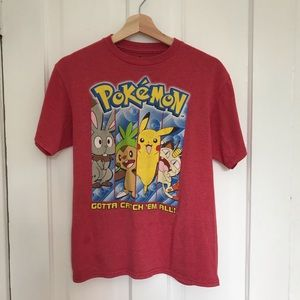 3/$25 POKÉMON Red Tee Shirt